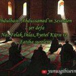 7'şer defa Felak Nas İhlas Ayetel Kürsi ve Fatiha Sureleri Sihir büyü nazar için
