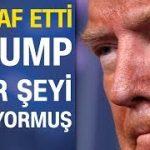 ABD Başkanı Trump'tan şok eden koronavirüs itirafı