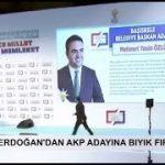 Erdoğan'dan AKP adayına 'bıyık' fırçası